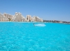 The Crystal Lagoon at San Alfonso del Mar