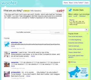 Woofer Social Networking Site