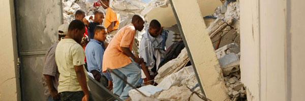 The Earthquakes in Haiti by Brian Dukes