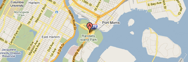 Google Map to Randall's Island Park
