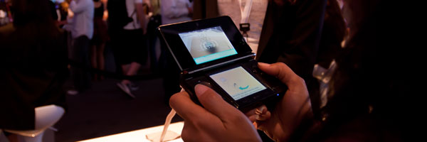 Handheld Video Games in Three Dimensions