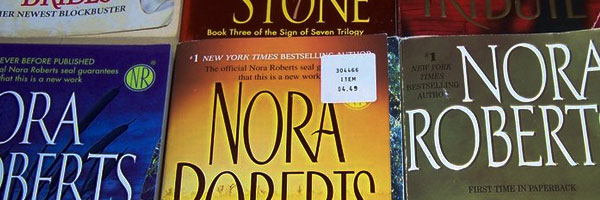 Nora Roberts Passes 1 Million Kindle Books Sold