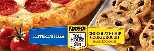 Digiorno's Pizza & Cookie Combo Box