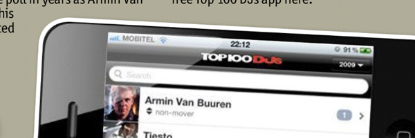 2011 DJ Mag Top 100 DJ Application