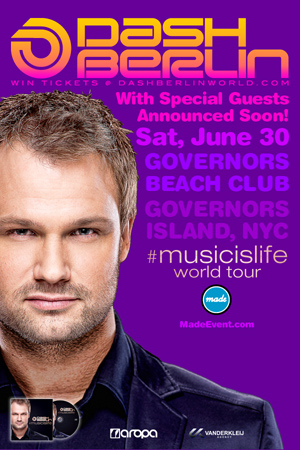 Made Event presents Dash Berlin at Governors Beach Club