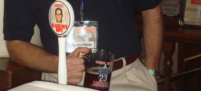 Blackened Hops: LONGSHOT Winner Rodney Kibzey