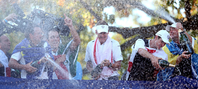2012 Ryder Cup at the Medinah Country Club