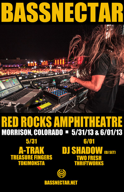 Bassnectar Announced Red Rocks Dates