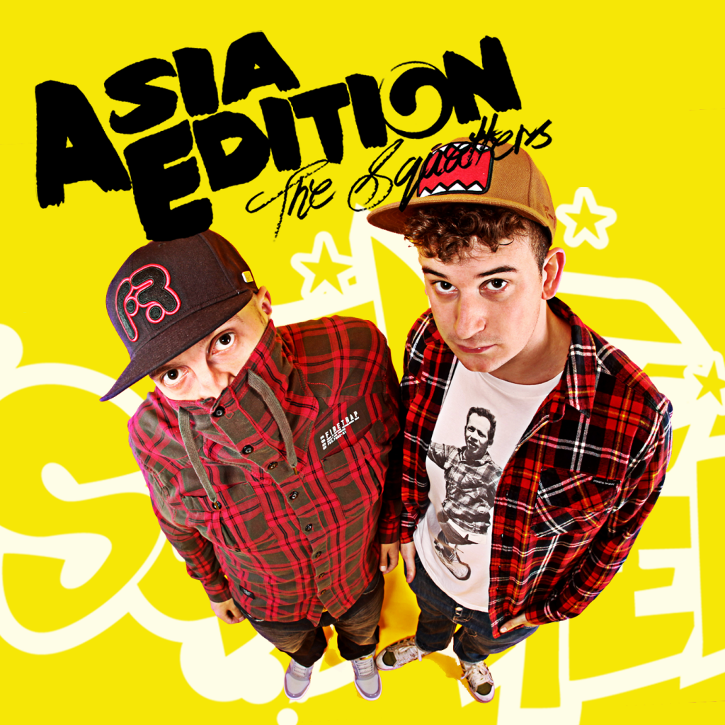 The Squatters hit the album charts in Asia!