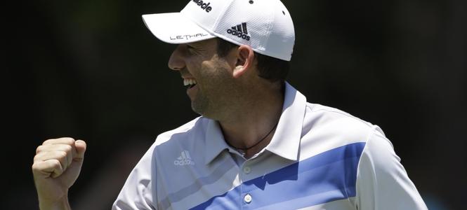 Garcia Blames Tiger for Errant Second Shot