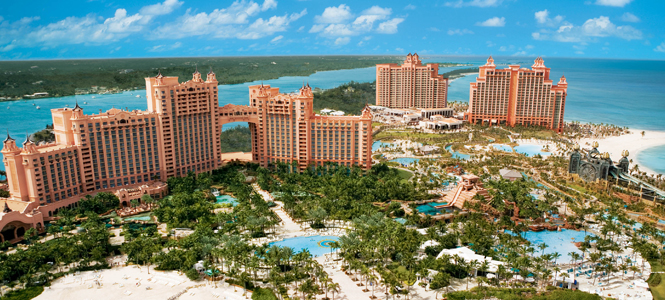 Atlantis Resort in the Bahamas