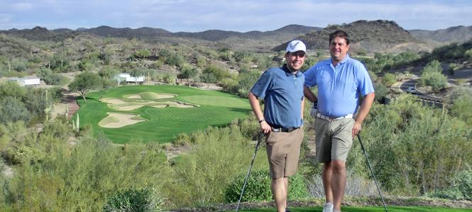 Russell Warner Visits Scottsdale, AZ