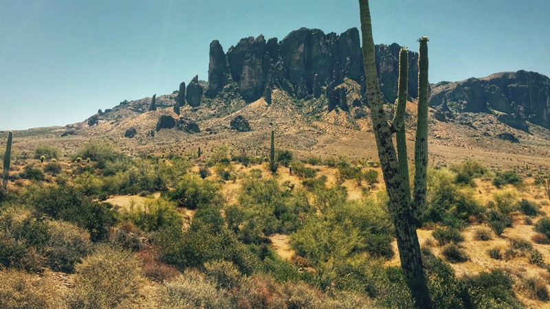Siphon Draw Trail in Apache Junction