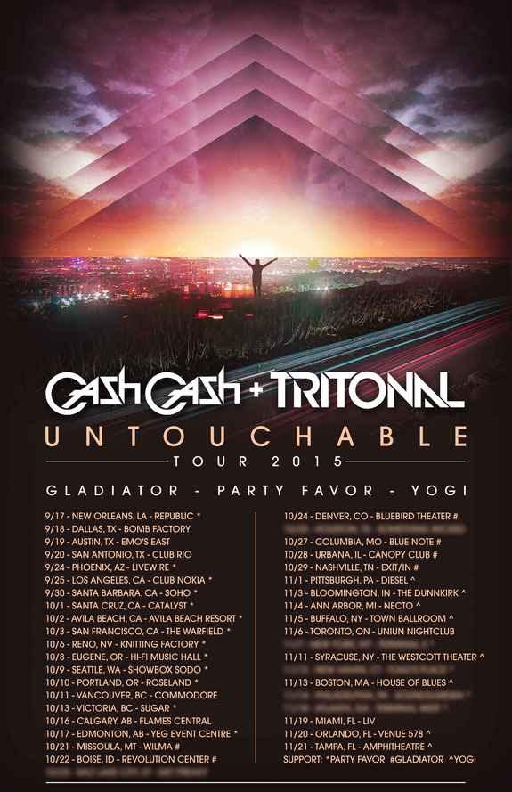 Untouchable Tour 2015