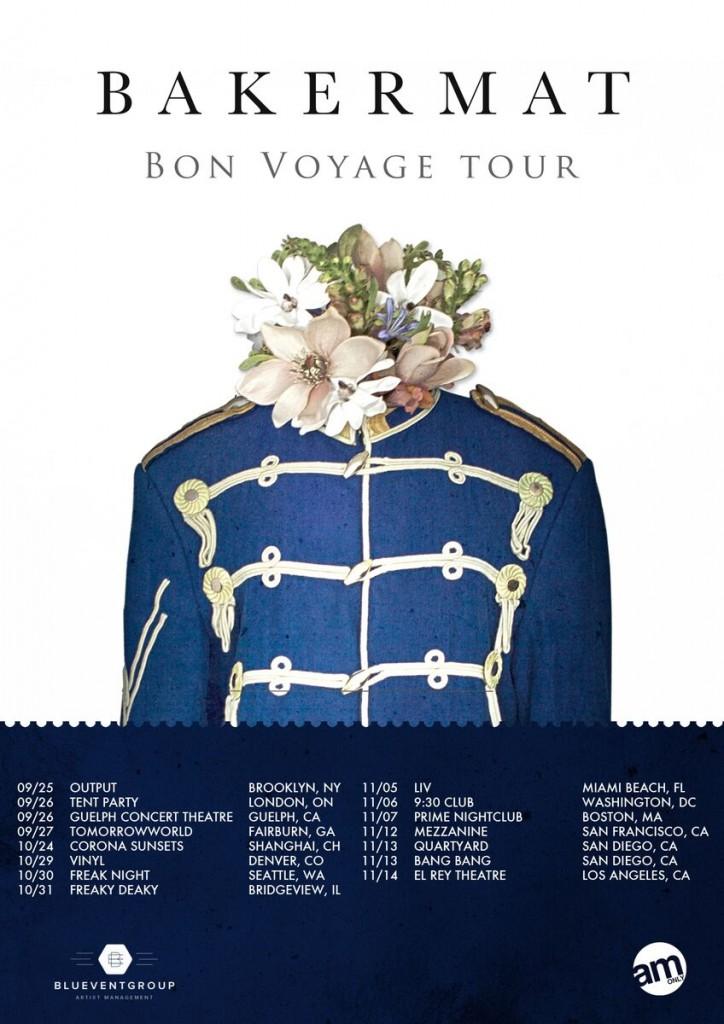 Bon Voyage Tour