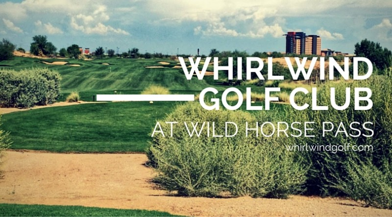 Whirlwind Golf Club at Wild Horse Pass: How many steps?