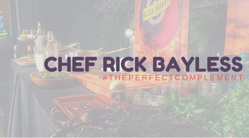 #thePerfectComplement with Chef Rick Bayless