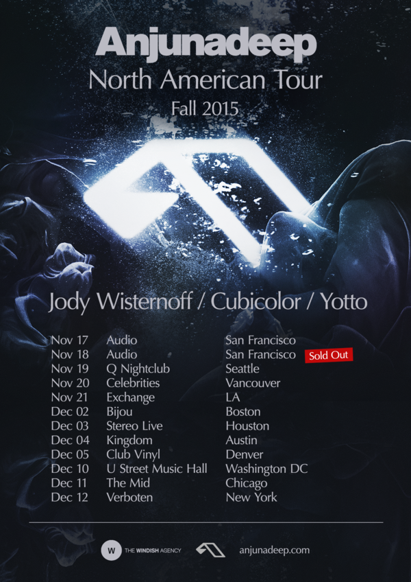 Anjunadeep North American Tour