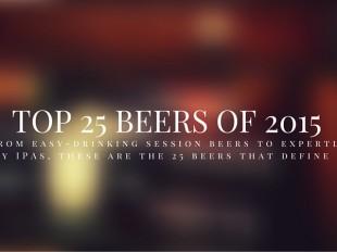 DRAFT Magazine Top 25 Beers of 2015