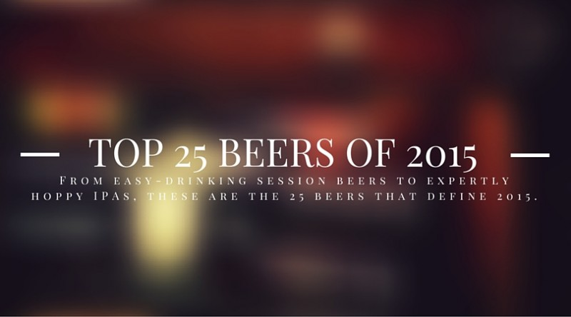 DRAFT Magazine Top 25 Beers of 2015