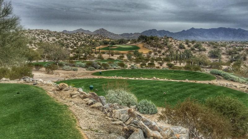 Golf Club of Estrella: How many steps?