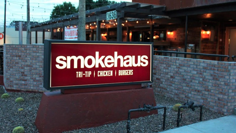 Smokehaus Restaurant in Old Town Scottsdale Becomes Home of Local Camelback Smoker - Set to Open February 1, 2016