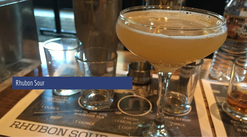 Crafted Cocktails by Matt: Rhubon Sour
