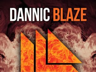 "Dannic set to catch fire with the hot ""Blaze"""