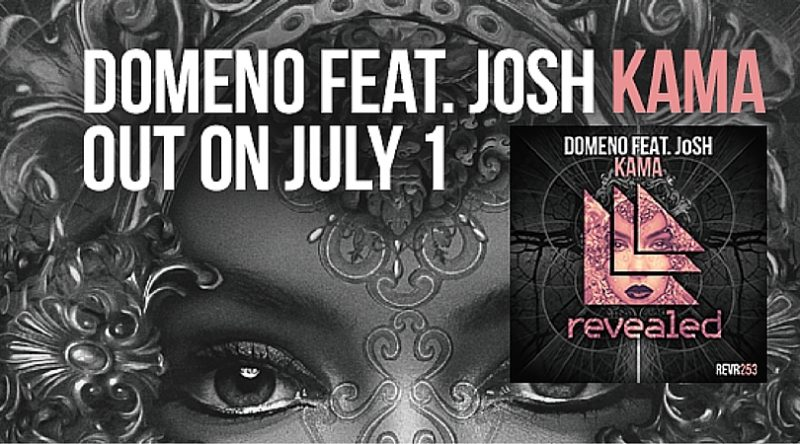 "Domeno Makes His Return to Revealed Recordings with ""Kama"" featuring JoSH"