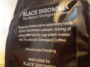 """The World's Strongest Coffee,"" Black Insomnia, Infiltrates Amazon USA"