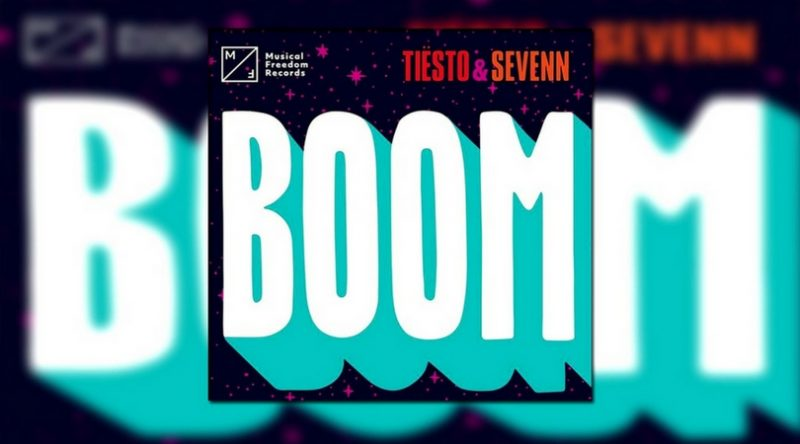 "Tiësto & Sevenn Release ""BOOM"" Out Now on Musical Freedom"