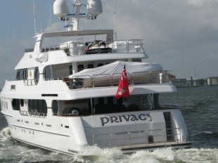 "Tiger's Mega Yacht: ""Privacy"""