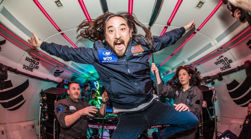 WORLD CLUB DOME Zero Gravity Mission Accomplished