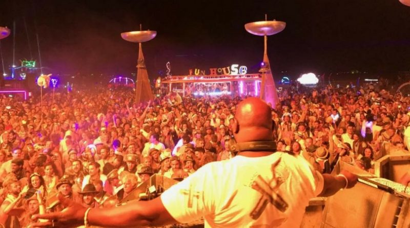 Carl Cox Announces Fundraiser to Benefit the Playground Theme Camp at Burning Man